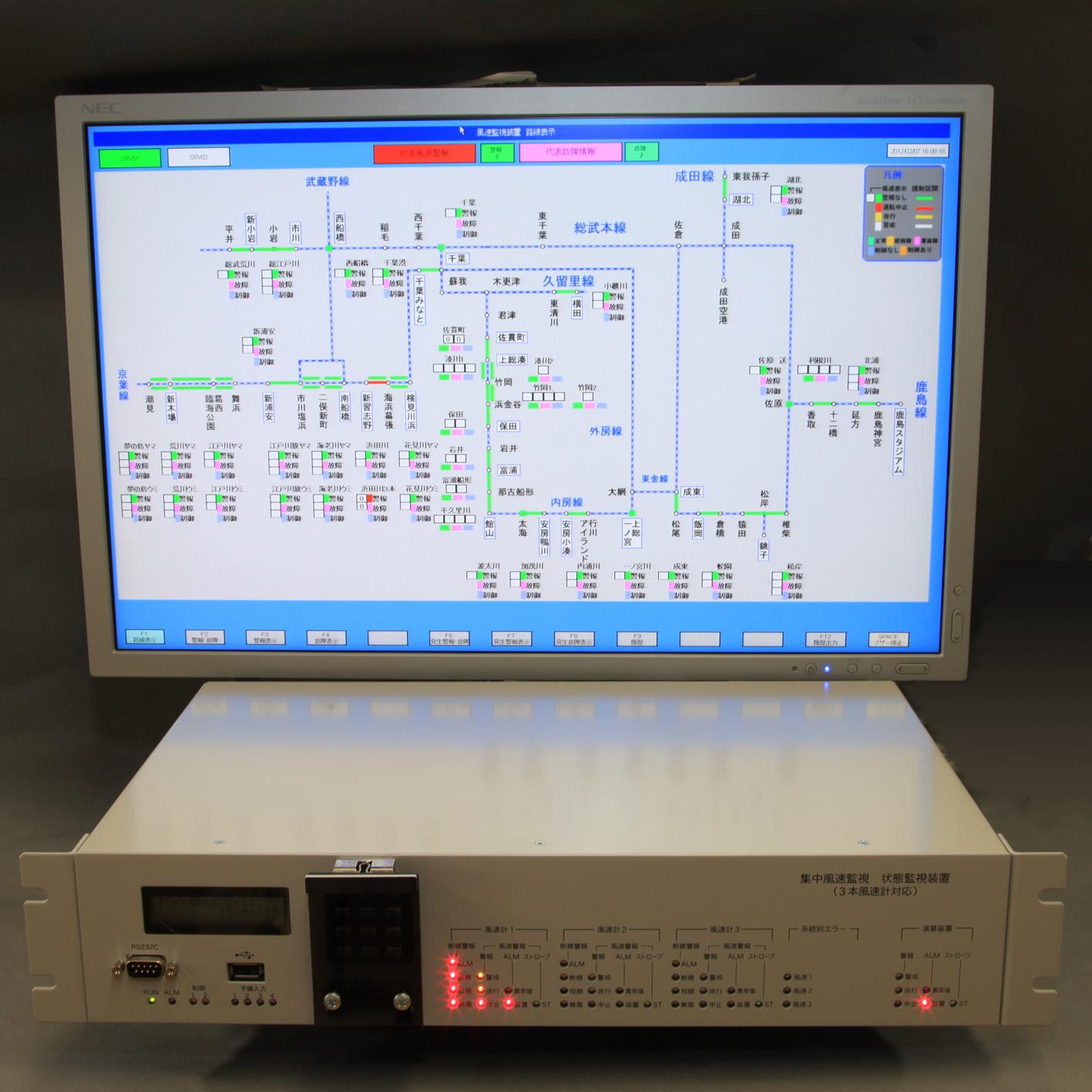 鉄道の監視制御・情報機器